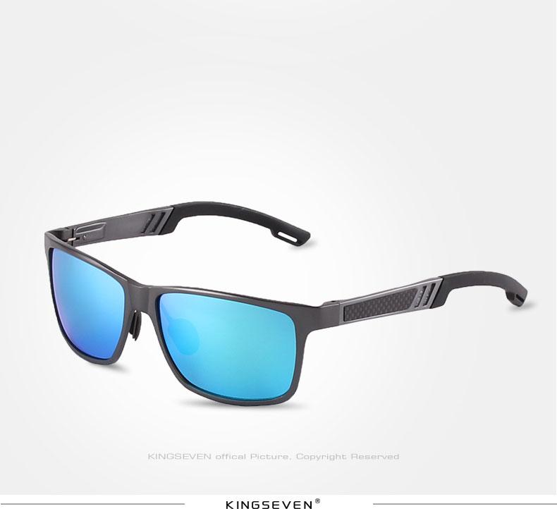2017 New KINGSEVEN Polarized Sunglasses Men Brand Designer Male Vintage Sun Glasses Eyewear gafas oculos de sol masculino N7180 10