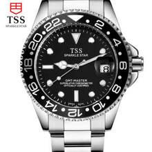 Мужские часы водонепроницаемые 30 м часы мужские автоматические механические часы полые мужской стол световой календарь армия стол