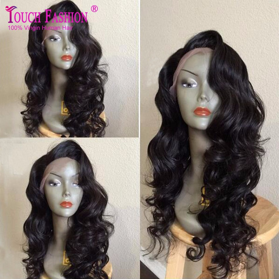 wavy silk top full lace wig