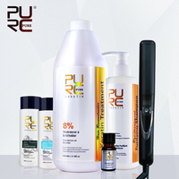 Hair keratin and hair shampoo get christmas gifts flat iron and argan oil daily shampoo and hair conditioner free shipping