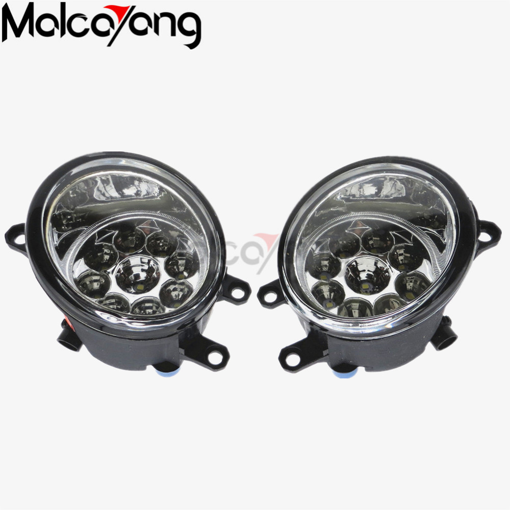 For toyota AURIS 2007+ Car styling Front bumper fog lamps Original Fog Lights 1 set (Left + right) 81210-06052 2 pcs set car styling front bumper light fog lamps for toyota venza 2009 10 11 12 13 14 81210 06052 left right