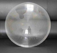 1 шт. 600 мм диаметр большой круглый PMMA Пластик Солнечный Френеля без конденсации фокусное расстояние объектива Длина 300 мм для самолета Лупа,