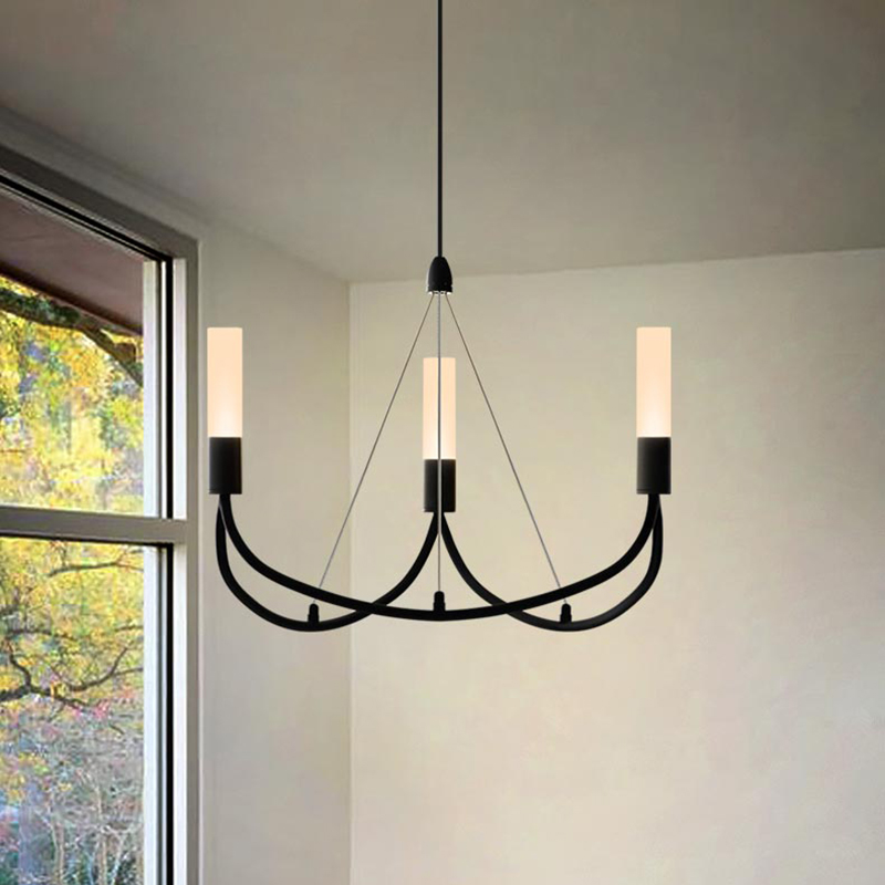 The space dimension of American pendant light minimalist Scandinavian modern living room bedroom Jane Ironpendant light ya72630 the scandinavian home interiors inspired by light