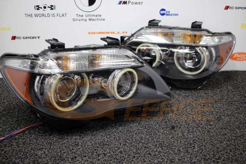 BMW E66 E65 750I 750LI 2006 2007 2008 cob led angel eyes(4)