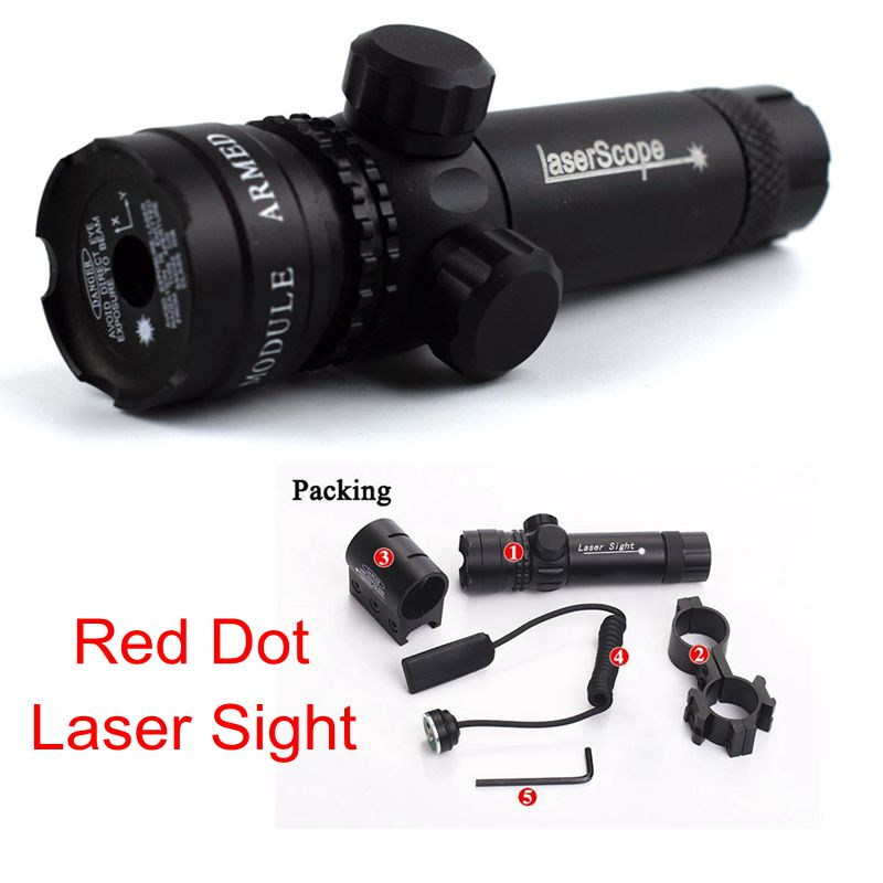 Tactical Lasers Red Dot Laser Air Rifle Accessories Airsoft Air Gun For Sight Scope 20mm Rail Hunting Shooting Rifle Use