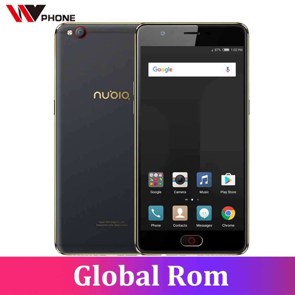 Original Nubia M2 Lite 4G LTE Mobile Phone MT6750 Octa Core 5.5 inch Front 16.MP Rear 13.0MP 3000mAh Android N Fingerprint ID