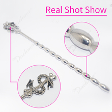 Male Stainless Steel Urethral Dilators Catheters Sounds Plug Kit Penis Inserts Anal Plug Sounding Chastity Adult Sex Toy For Man electro shock urethral sounding catheters sounds anal plug stimulation male penis plug sex products chastity sex toy for couples