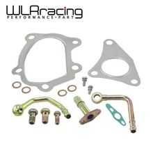 WLRING STORE-Turbocharger 49377-04300 gasket kit Fit For TD04 TD04L For Subaru FORESTER Impreza WLR4851 turbo cartridge chra for subaru forester impreza 1997 58t ej20 ej205 2 0l 211hp td04l 49377 04300 14412 aa360 turbocharger