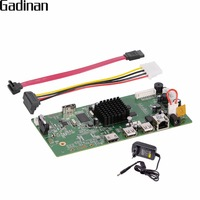 GADINAN 4CH CCTV H 265 H 264 NVR Board HI3798M Security IP NVR DIY Module 4CH