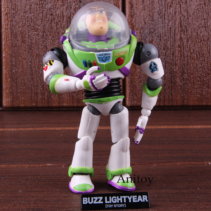 Anime Action Figure Buzz Lightyear Star Command PVC Collection Model Toys For Kids Boys