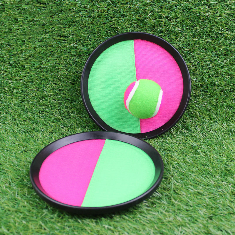 Sticky ball, sucker outdoor parent child toy, sticky target, 2 sets of +1 ball sets.