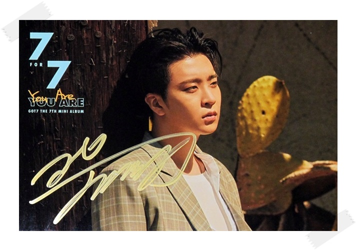 signed GOT7 GOT 7 Choi Young Jae autographed photo  7 FOR 7 6 inches free shipping 102017A got7 got 7 youngjae kim yugyeom autographed signed photo flight log arrival 6 inches new korean freeshipping 03 2017