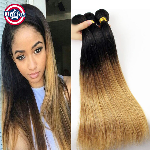 Peruvian Ombre Hair 4 Bundles Deals 100 Human Hair Sew In Extensions