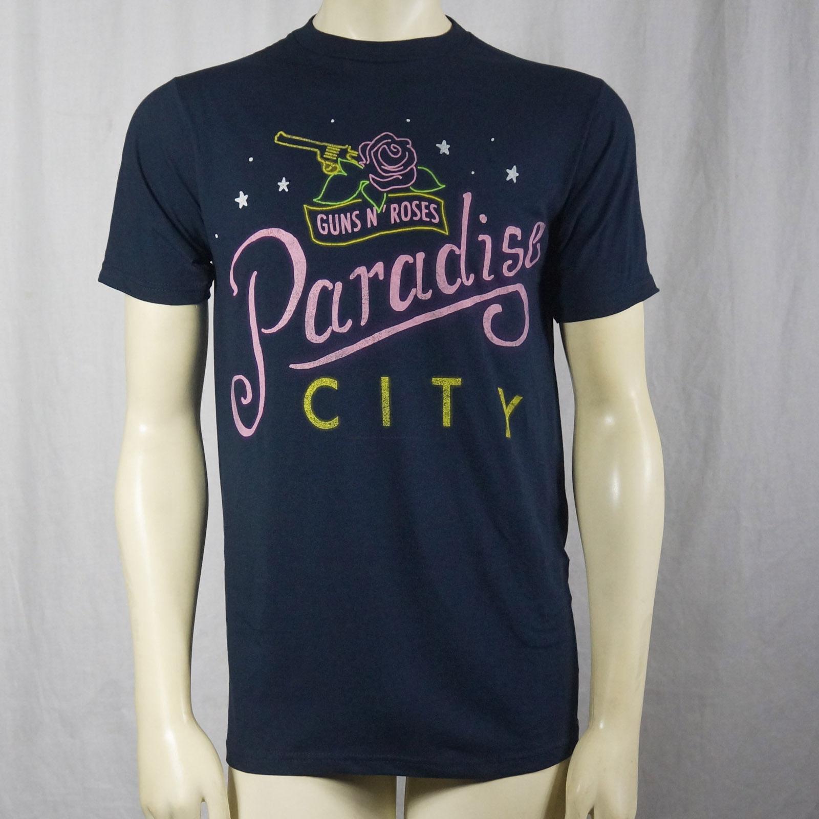 Authentic GUNS N ROSES Paradise City Sketch Logo T-Shirt S M L XL 2XL NEW