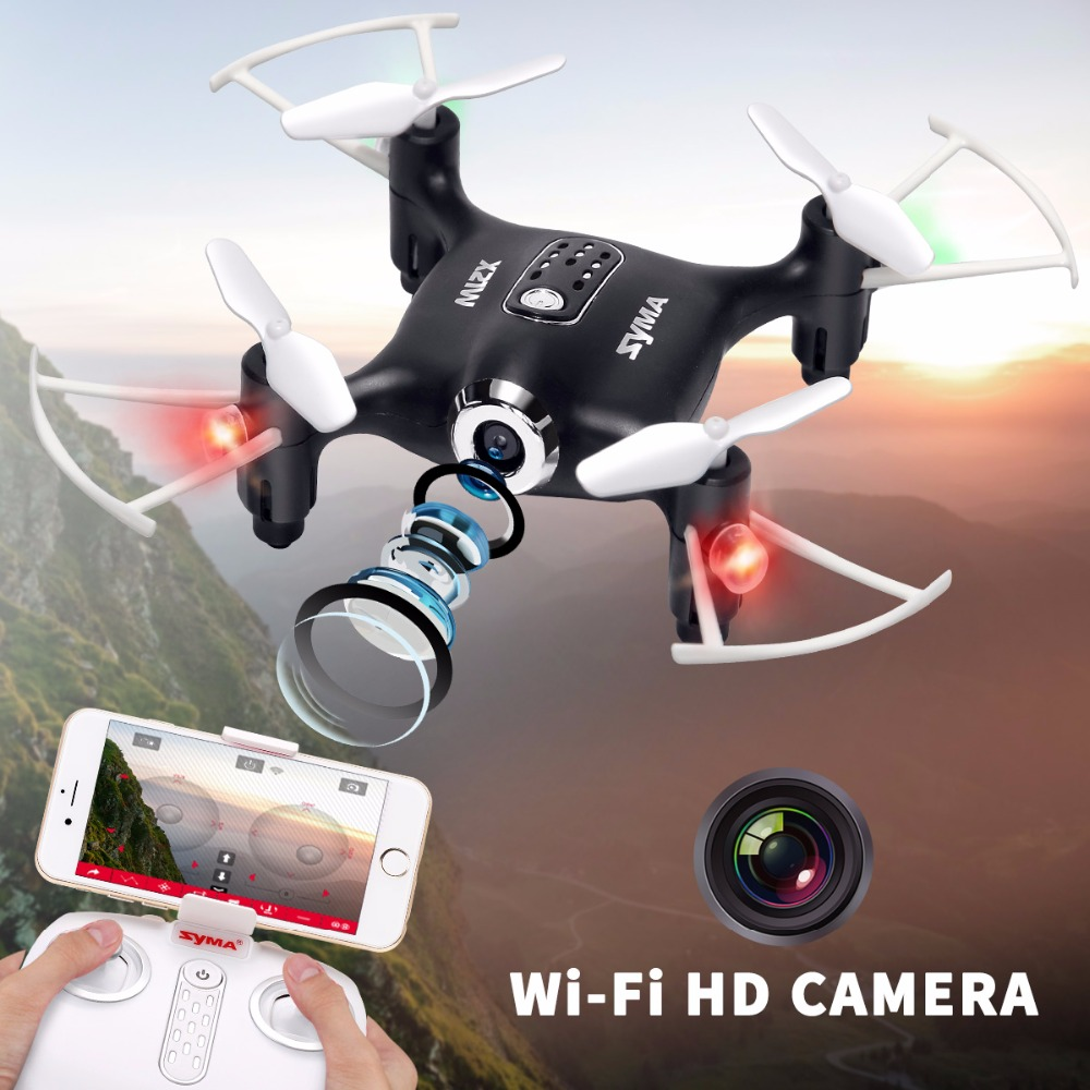 SYMA Drone X21W with Camera Wifi FPV RC Quadrocopter 2.4G 4CH 6-aixs Gyro Aircraft Remote Control Selfie Drone Children ToysSYMA Drone X21W with Camera Wifi FPV RC Quadrocopter 2.4G 4CH 6-aixs Gyro Aircraft Remote Control Selfie Drone Children Toys