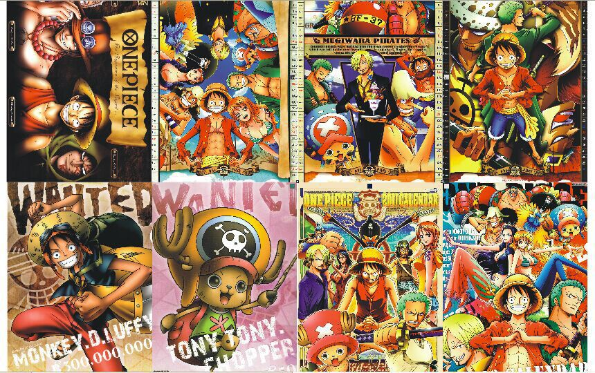 Black Crown Wallpaper 8 Pcs Lot Different Designs Anime A3 Posters One Piece