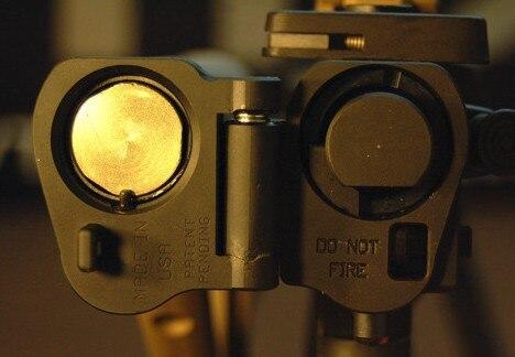 Accessoires de lunette de chasse tactique adaptateur de stock pliable AR pour la série M16/M4 SR25 GBB (AEG) pour portée de fusil pour la chasse