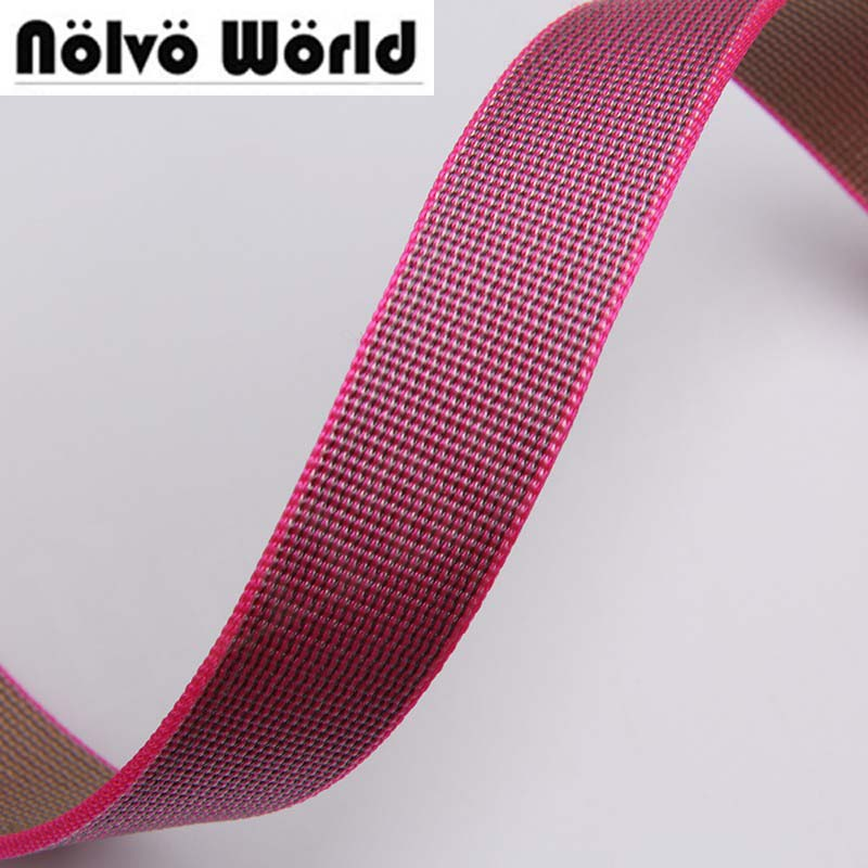 21mm wide 1.9mm thick Eco-Friendly latest rose nylon for DIY camera strap camera shoulder bags wristband cheap price
