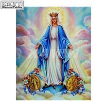 Алмазная вышивка иконы религиозная наша Леди мозаика полные