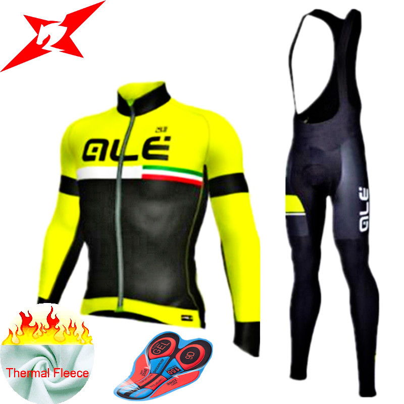New winter Cycling clothing Pro Team 9D GEL Pad Cycling Ale Good Quality Thermal Fleece Cycling Clothes Roupa De Ciclismo #607 bxio brand winter thermal fleece bicycle jerseys 5d gel pad bike clothes warm long sleeves cycling clothing maillot ciclismo 114