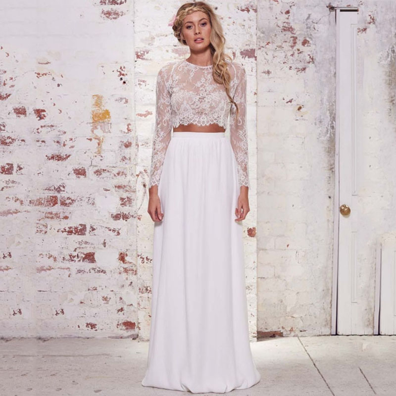 Chiffon Long Women Summer Boho Brides Skirts White A Line Floor Length Long Maxi Skirt Personalized Women Skirts Saias Longa