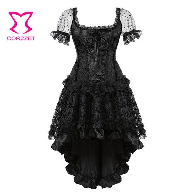 Black Short Corset Dress
