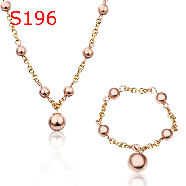 Sets jewelry sets Gold Popular Worldwide Jewelry Wholesale Prices