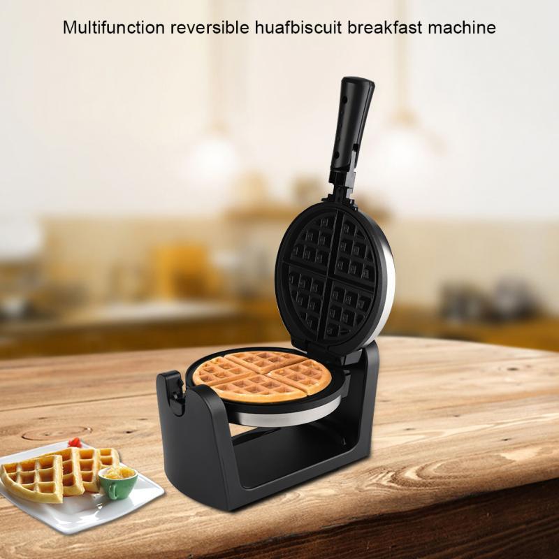 220V Multifunctional Reversible Electric egg bubble waffle maker machine Breakfast Cake egg puff iron maker bubble