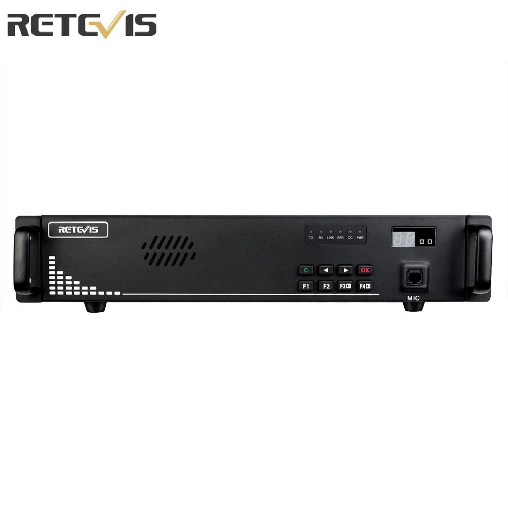 Retevis RT92 Digital Repeater 25W/50W Two Way Radio Repeater CDCSS