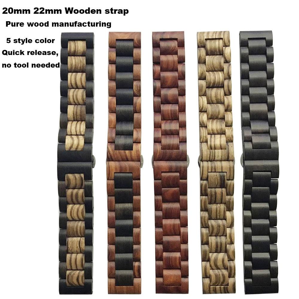 Para Amazfit inteligente Correa de reloj de pulsera 20/22mm para Xiaomi Amazfit ritmo Stratos Bip poco Correa Samsung Gear s2 S3 S4 de banda