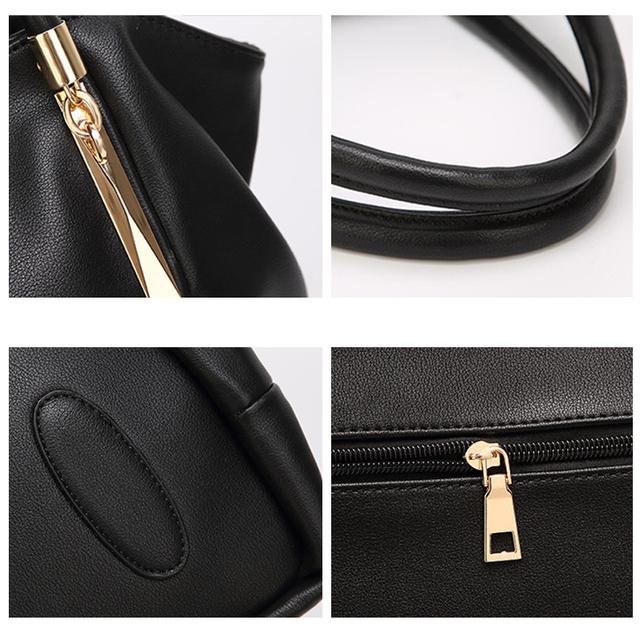FUNMARDI 2019 Luxury Women Handbags PU Leather Women Bags Brand Designer Top-handle Bag Ladies Shoulder Bag Female Bag WLHB1778