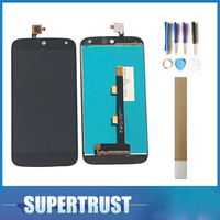 100% Test For Acer Liquid Z630S Z630 LCD Display+Touch Screen Glass Digitizer Assembly Black Color With Tape For Free