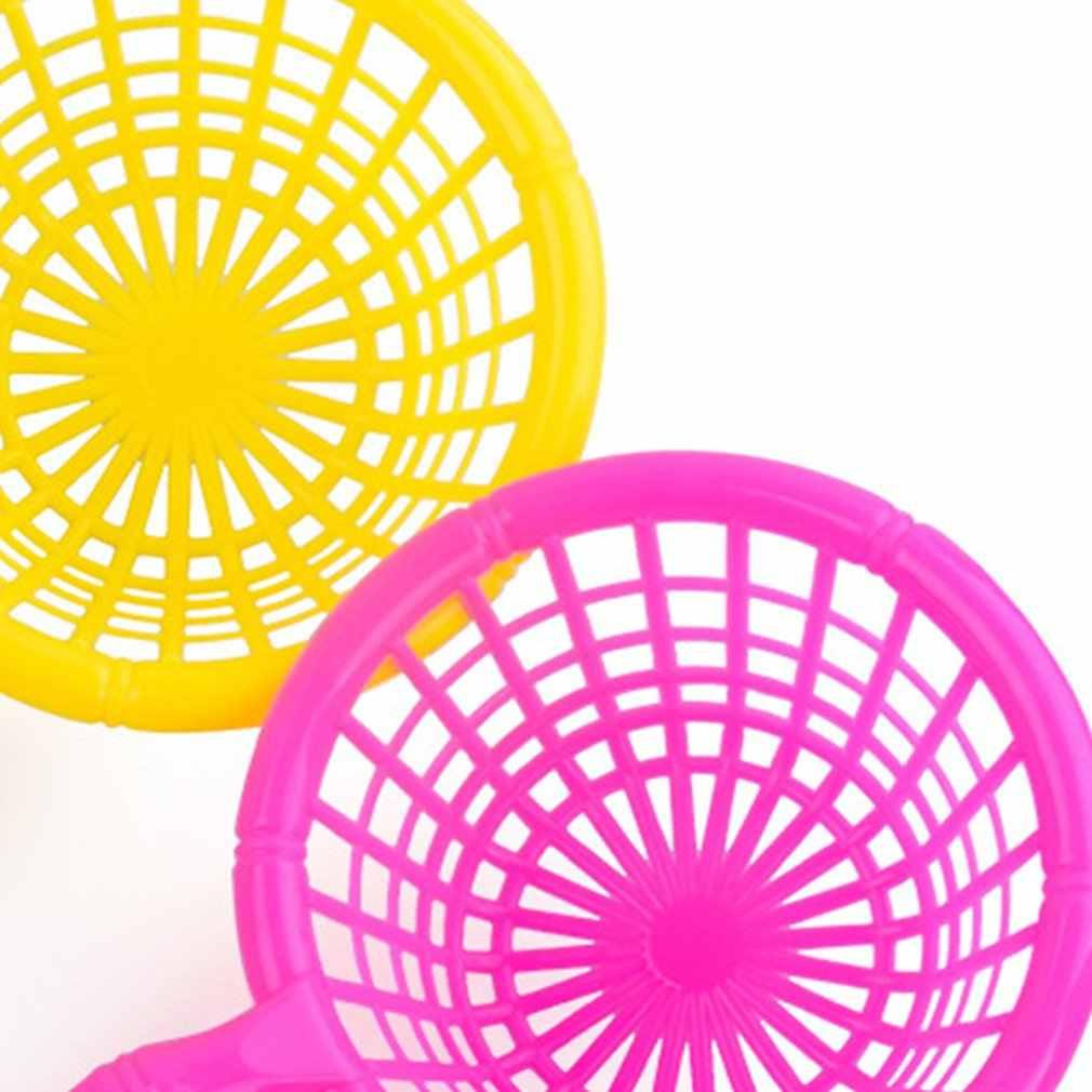 1 PC Magnetica Maniglia Pesca Netto Per La Plastica di Pesce Giocattolo Famiglia Giochi Al Coperto di Scherza il Regalo Dei Bambini di Rete Da Pesca di Colore Casuale di consegna