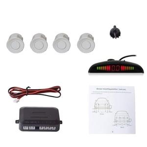 Image 5 - 4PCS Car Parking Sensors System With LED Display Indicator Auto Reversing Radar Monitor Detector Longevity Auto Parking Sensor