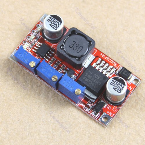 1PC LM2596 LED Driver DC-DC Step-down Adjustable CC/CV Power Supply Module 10pcs 5 40v to 1 2 35v 300w 9a dc dc buck step down converter dc dc power supply module adjustable voltage regulator led driver