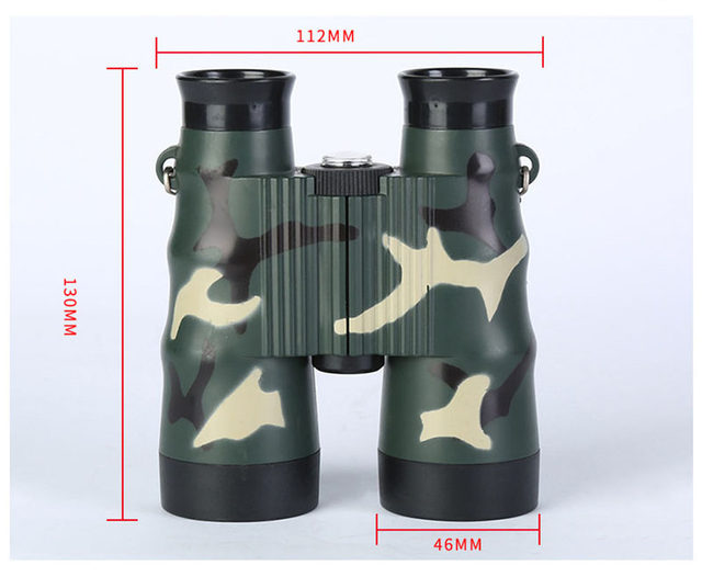 6X36 Folding Binoculars Telescope For Kids Toys Birthday Gift Outdoor Camping Tools Travelling Bird Watching Zoom Field Glasses (8)