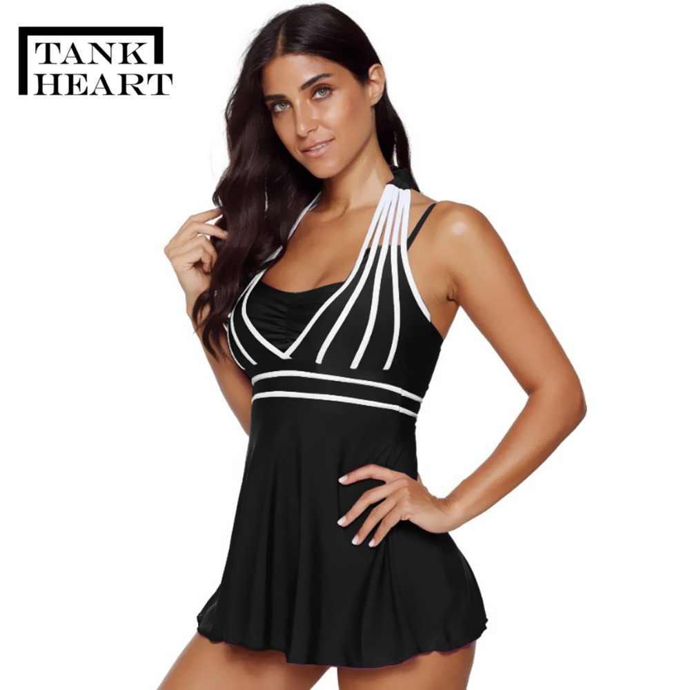 75e4da19dbb91 ... Sexy Biquini Plus size swimwear Tankini Swimsuits Women Two Piece  Swimsuit with Shorts Swimdress bikini brazilian ...