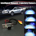 Car Intelligent Reversing Trajectory Tracks Camera Rear View Backup Parking For Porsche Cayenne 955 957 958 2002~2010