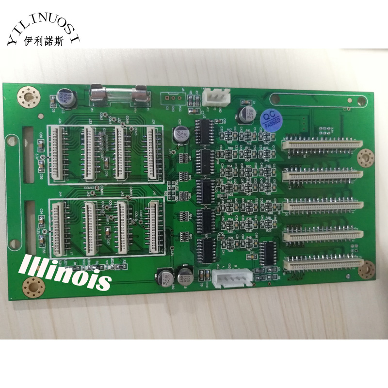 ZHONGYE E-1800 / E-1802 Printer Printhead Board/ DX7 printhead Board/carriage board duble head