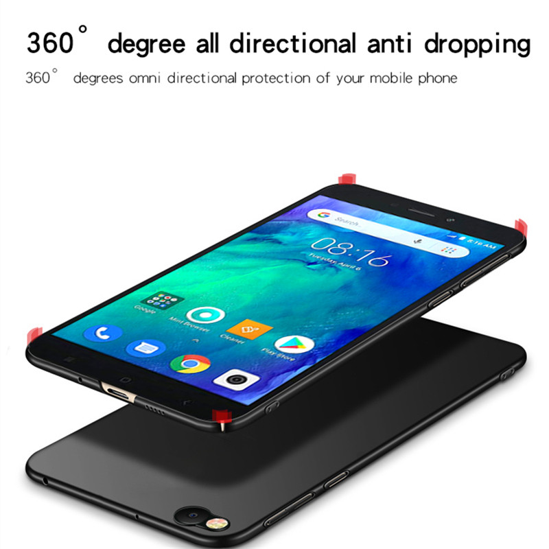 Image 4 - Xiaomi Redmi Go Case Silm Shockproof Cover Luxury Ultra Thin Smooth Hard PC Phone Case For Xiaomi Redmi Go Back Cover Redmi Go-in Fitted Cases from Cellphones & Telecommunications