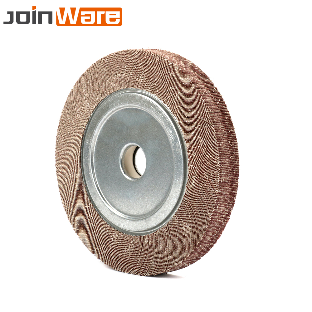 250x32x30MM Abrasive Flap Wheel Sanding Polishing Disc Hole 32mm Thickness 30mm 60/80/100/120/150/180/240/320/400/600# lathe 25mm thickness 120mm x 25mm abrasive flap disc wheel
