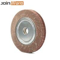 250x32x30MM Schleif Klappe Rad Schleifen Polieren Disc Loch 32mm Dicke 30mm 60/ 80/100/120/150/180/240/320/400/600 #