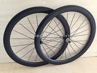 גלגל אופניים מרוצי כביש פחמן מחיר סיטונאי ישר למשוך 50 מ