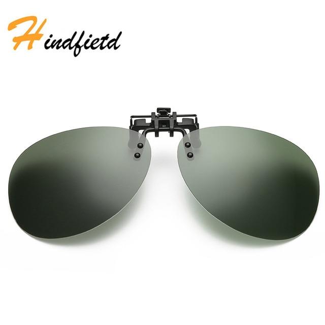 f7ff8faddb5 Hindfield lunettes de Soleil Sans Monture Clip Lunettes Polarisées  Lentilles UV400 Optique Approprié Verre Filp sur