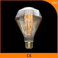50Pcs 40W Vintage Design Edison Filament B22 E27 LED Bulb,D95 Energy Saving Decoration Lamp Replace Incandescent Light AC220V