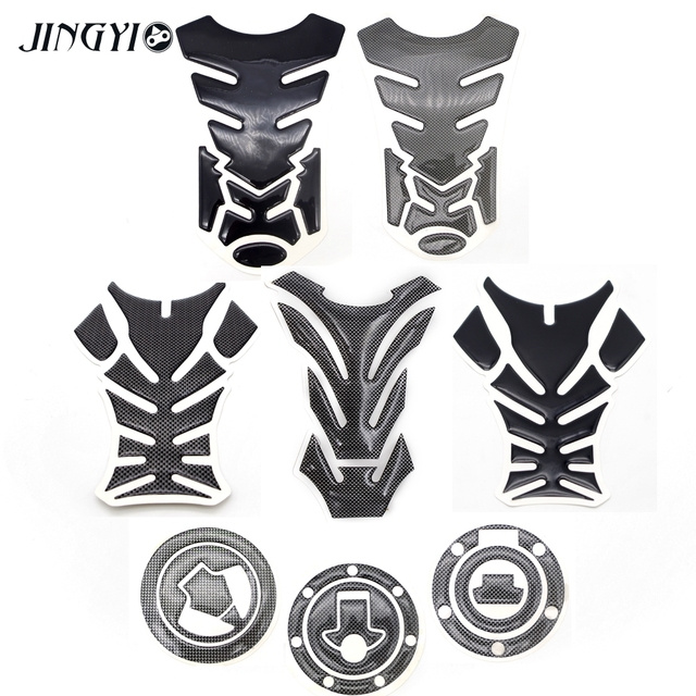 New 3d Moto Decal Motorcycle Gas Fuel Tank Pad Protector Sticker Kit