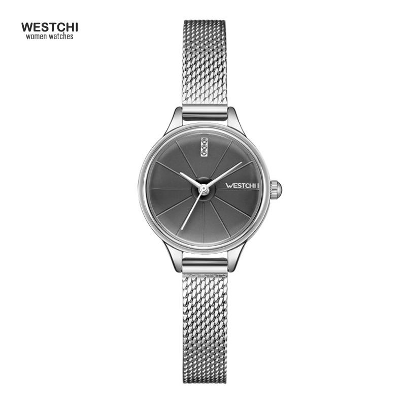 2018 New Cool Mesh Steel Belt Women Watches Top Brand Luxury Waterproof Analog Simple Design Bracelet Ladies Watch Female Clock 1