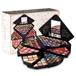 Image 1 - Новый брендовый бриллиантовый набор для макияжа, набор модной косметики, красивый подарок, пудра для ухода, консилер, волшебные брови, очаровательные тени для век