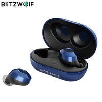 Blitzwolf BW-FYE5 bluetooth Беспроводной True наушники СПЦ наушники bluetooth V5.0 10 м связи стерео наушники IPX6 Водонепроницаемый