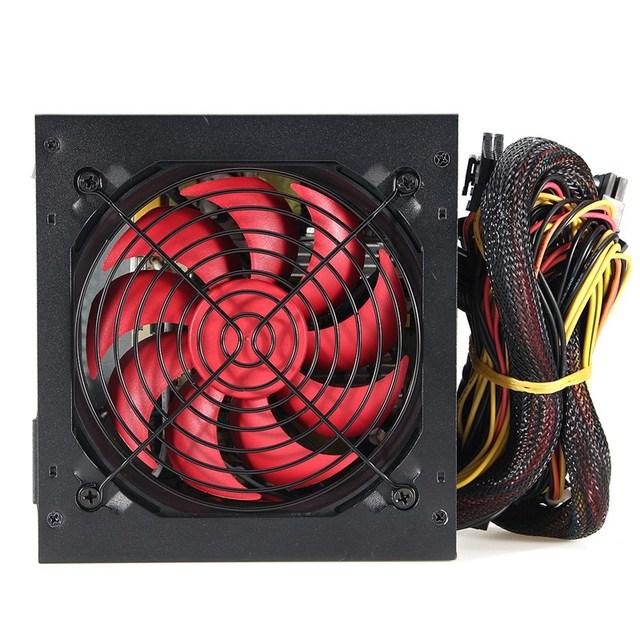 Quiet 800 Watt 800W for Intel AMD PC 12V ATX PC Power Supply 5